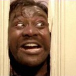 Lenny Henry checks into the Overlook