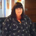A brief, but great moment with Dawn French