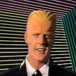Max Headroom – the classic Talking Head