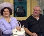 Rachel Bell and Gareth Hale star in Keeping Up Appearances in Glasgow