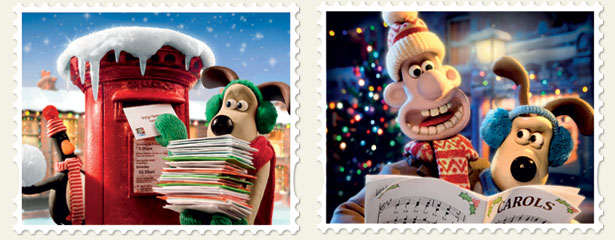 Wallace & Gromit ring in the holidays
