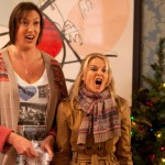 Behind the scenes of a Christmassy Miranda