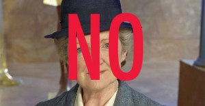 Jennifer Garner as Miss Marple? This just isn't right.