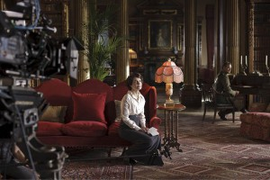 On the set with Downton Abbey II