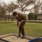 Mr. Bean to tee it up at the British Open? – Uh, no