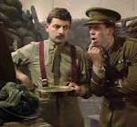 Blackadder battlefield scene from Blackadder the Fourth