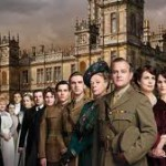 Downton Abbey 2 cast at Highclere Castle