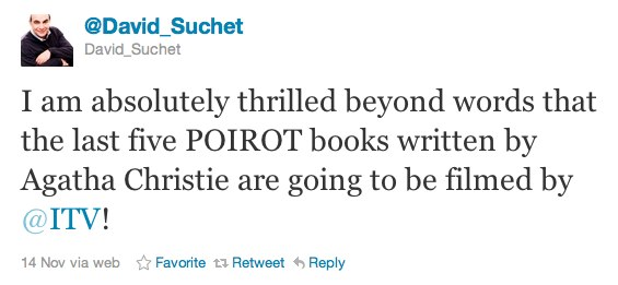 Poirot and Miss Marple ↑ — Prime Suspect ↓
