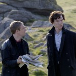 Sherlock and Watson in Hounds of the Baskerville