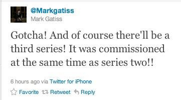 Sherlock 3 confirmed!