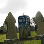Doctor Who heads to Welsh graveyard to film Ponds' farewell