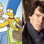 Benedict Cumberbatch and Homer Simpson walk into Moe's….Hey, it could happen….