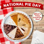 Celebrating National Pie Day in the U.S. and making plans for British Pie Week 2013!