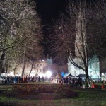 A brief glimpse behind-the-scenes on the set of Sherlock 3 in Bristol