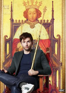 David Tennant as Richard II from The Royal Shakespeare Company