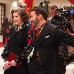 On the set of Mr. Selfridge 2
