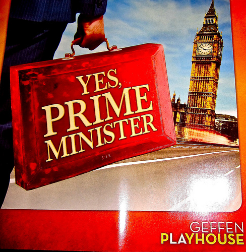 yes prime minister at the geffen playhouse in los angeles
