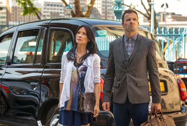 CBS' Elementary begins filming in London with Jonny Lee Miller and Lucy Liu