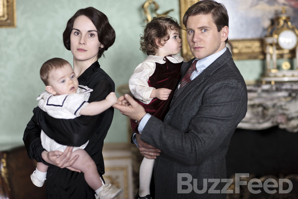 Downton Abbey 4 pics Buzz feed 1
