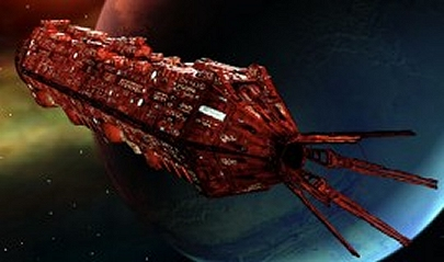 Red Dwarf Ship