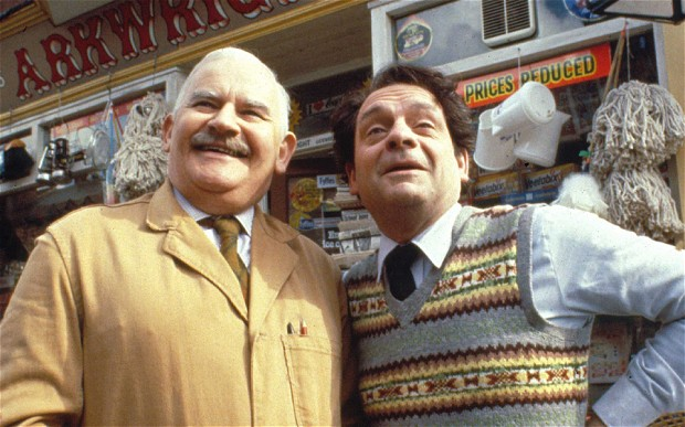Open All Hours with Ronnie Barker and David Jason