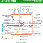 A Festive Tube Map just in time for the holidays!