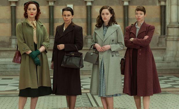Bletchley Circle returns for a 2nd series