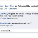If 'Downton Abbey 3' took place entirely on Facebook…