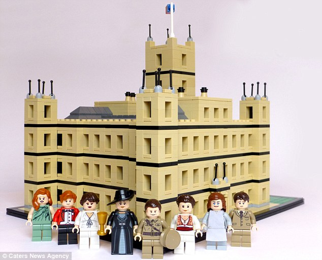 Downton Abbey in Lego