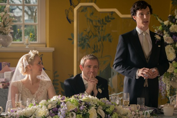 Sherlock and the best best man speech of all time