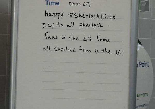 Happy #SherlockLives Day! & Sherlock: The Musical!