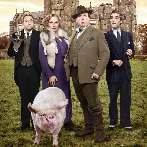 Blandings, starring Jennifer Saunders and Timothy Spall. Image credit -  Mammoth Screen