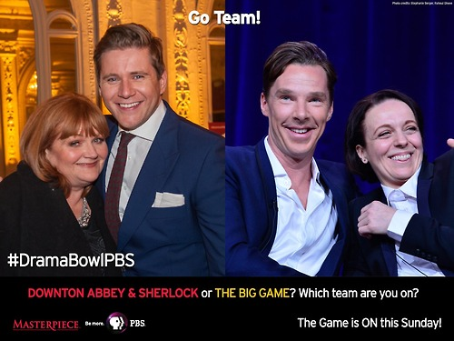 Downton Abbey and Sherlock or The Big Game