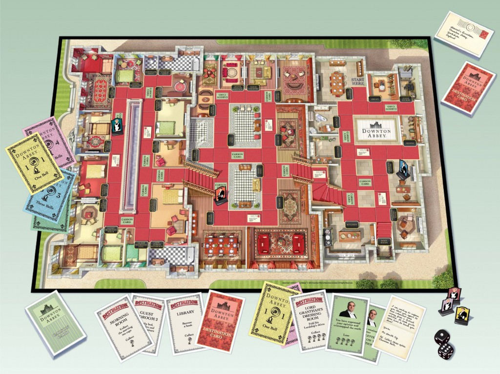 Downton Abbey looking like Monopoly