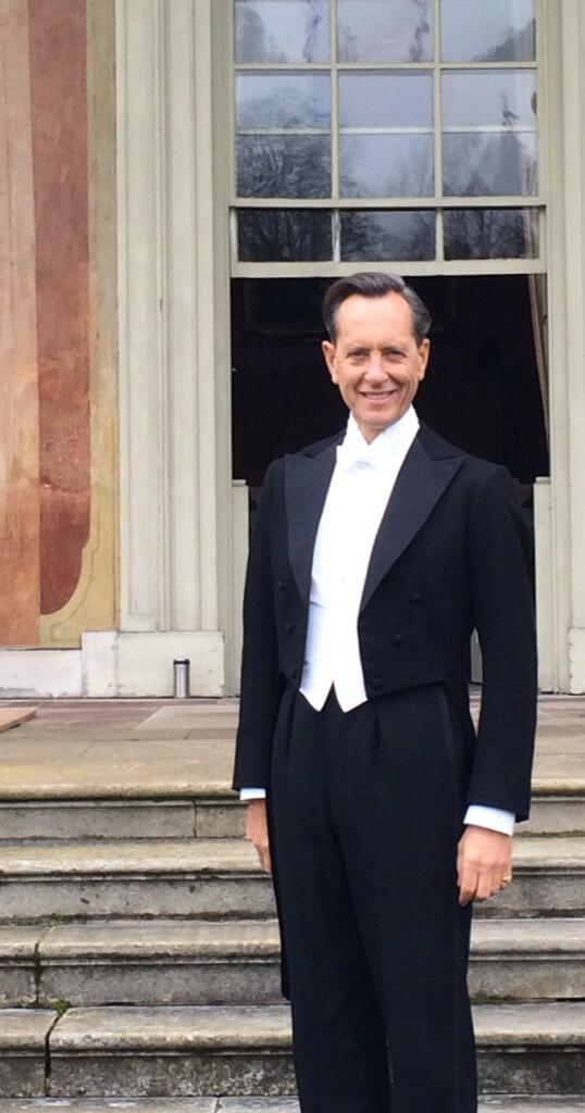 Its Downton Abbey duty for Richard E. Grant