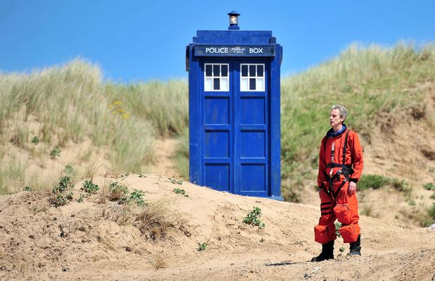 Doctor Who production pics