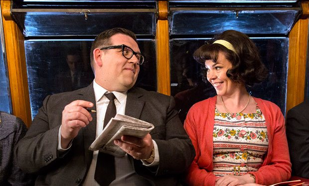 Nick Frost and Olivia Colman star in Mr. Sloane on Sky Atlantic HD