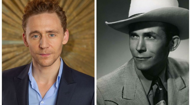 "Tom Hiddleston to star as Hank Williams in ""I Saw the Light"""