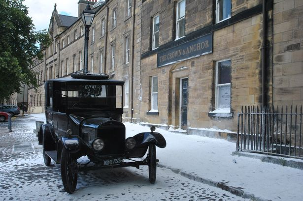 Christmas in August at Alnwick Castle with Downton Abbey