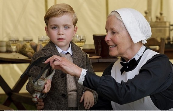 Downton Abbey series five_ Meet Master George Crawley and Miss Sybbie Branson - the youngest new cast members