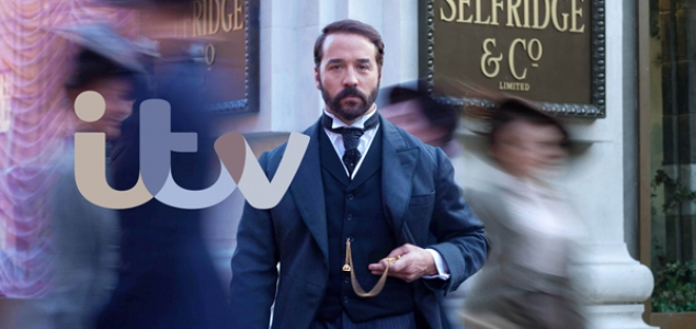 Jeremy Piven stars as Harry Gordon Selfridge in series 3 of Mr. Selfridge