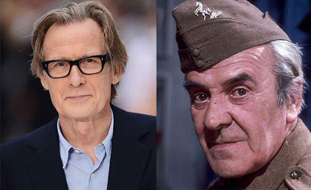 Bill Nighy to star as Sergeant Arthur Wilson in big screen adaptation of Dad's Army