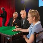Illusionist Derren Brown enters Sherlock stars' mind palace