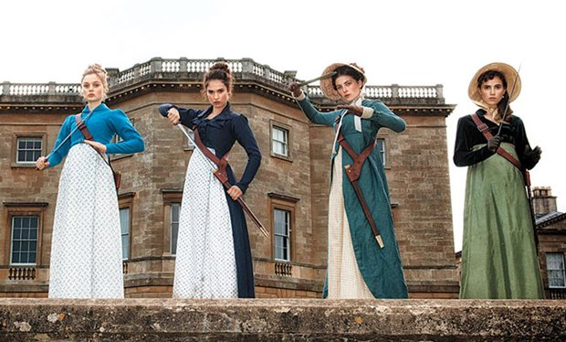 Pride and Prejudice and Zombies – Buffy meets Jane Austen?