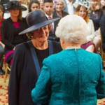 Order of the Companions of Honour all in a days work for Dame Maggie Smith
