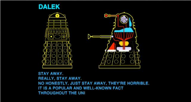 A Hitchhikers Guide to the Daleks