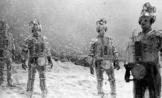 The Cybermen in The Tenth Planet from 1966
