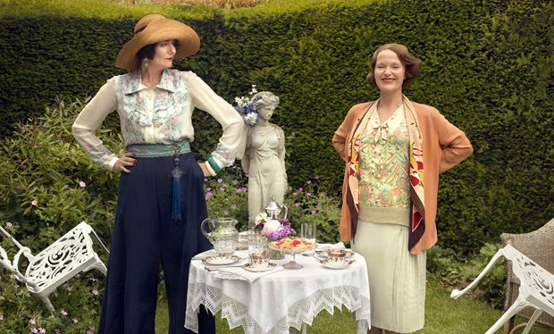 It's Downton vs Mapp and Lucia in the 2014 Wardrobe Wars this Christmas
