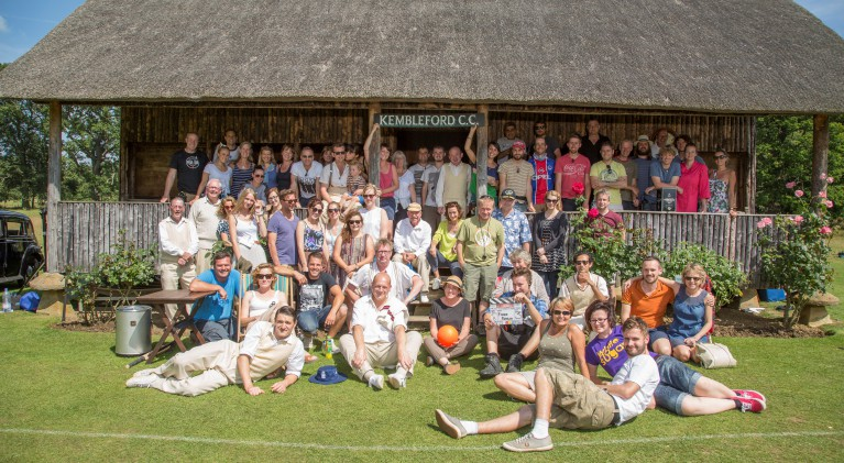 Father Brown cast photo Summer 2014