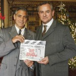 Take a glimpse of George Clooney at Downton Abbey for Text Santa